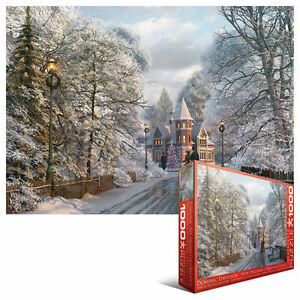 New England Christmas Stroll JIGSAW PUZZLE EG60000425 Eurographics 1000 PIECE