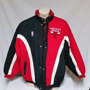 1241e4c58675be VTG Chicago Bulls Winter Coat Parka NBA 90s Jacket Jordan Air Ski ...
