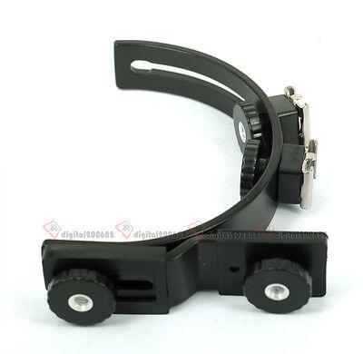 C-Shape Flash Bracket Grip Arm Holder for Video light Camera Camcorder DC DV SLR