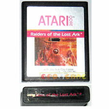 RAIDERS OF THE LOST ARK Atari Vcs 2600 I Predatori dell'Arca Perduta » CARTUCCIA