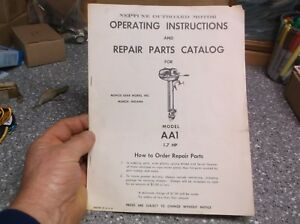 Y31-Neptune-outboard-operating-instructions-book-1940-039-s-50-039-s