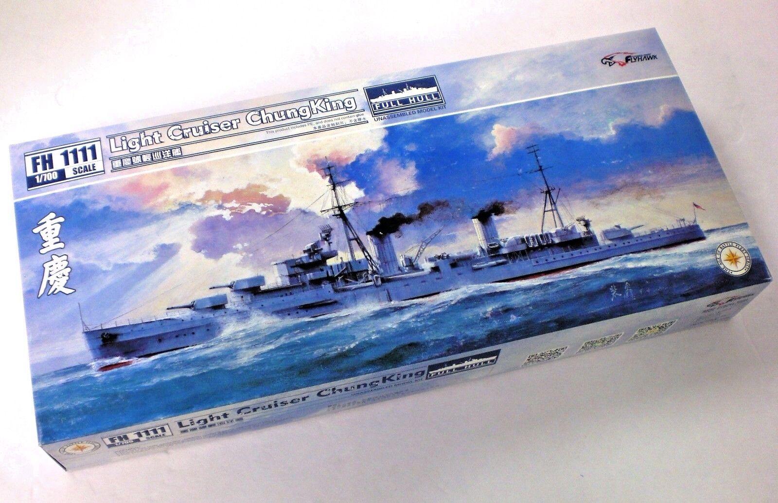 Flyhawk Models 1 700 Scale Light Cruiser Chung King Full Hull Model Kit No. 1111
