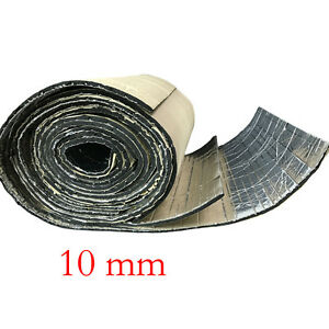 2roll 10mm car sound proofing deadening vehicle insulation for Sound insulation glass