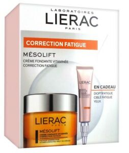 Lierac-Mesolift-Correction-Cream-Dioptifatigue-Correction-Energizing-Balm-Gel
