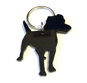 Patterdale-Terrier-Dog-Keyring-Bag-Charm-Lanyard-Keychain-Gift