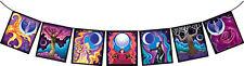 Decorative Prayer Good Karma Moon Goddess Flags (F0048)