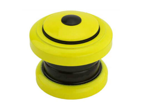 "bike Threadless Headset 1-1//8/""x34x30mm  Yellow Bicycle Headset Part 173730"