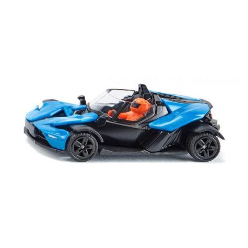 Siku 1436 KTM X-BOW GT blau/schwarz Maßstab 1:55 Modellauto NEU! °