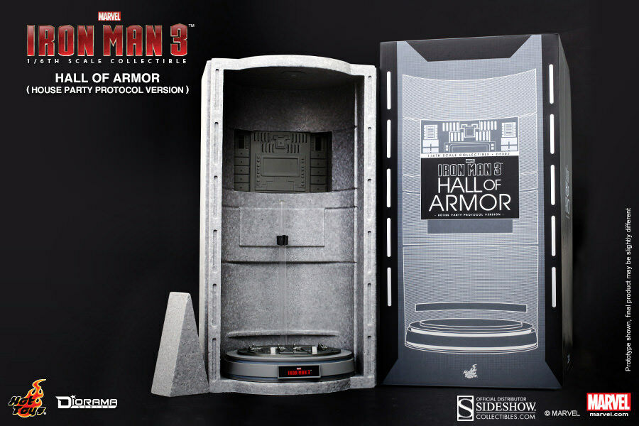 HOT TOYS MOVIE MASTERPIECE IRON MAN 3 HALL OF ARMOR DS001 NEW MISB CHEAPEST