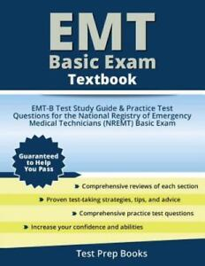 emt basic exam textbook emt b test study guide book and practice rh ebay com emt basic study guide printable emt basic study guide for national registry