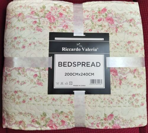 King size bedspread throw