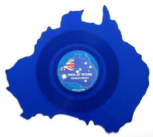 MEN-AT-WORK-DOWN-UNDER-AUSTRALIA-SHAPED-VINYL-PICTURE-PIC-DISC-45