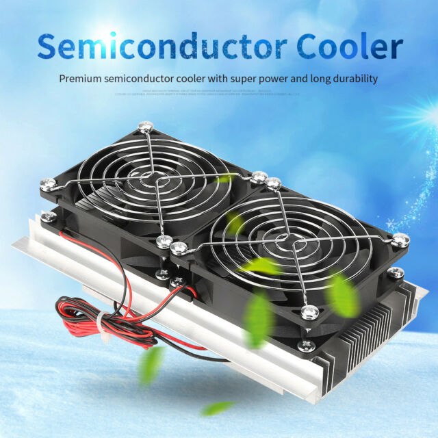 Semiconductor Thermoelectric Cooler Peltier Refrigeration Water Cooling  Device K