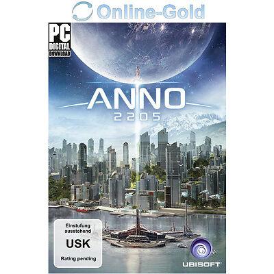 Anno 2205 Key - UPLAY Ubisoft Digital Download Code - PC Standard [NEU][DE][EU]
