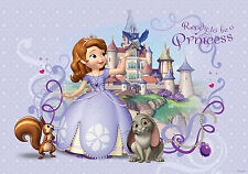 Disney Wallpaper mural for children's bedroom Princess Sofia giant photo wall
