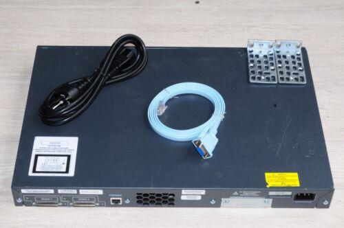 Cisco WS-C3750V2-24TS-S 3750 V2 Series 24 Port Gigabit Switch IP Services IOS 15