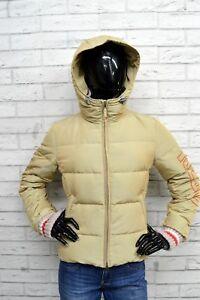KEJO-Piumino-Taglia-Size-42-Giacca-Giubbino-Jacket-Woman-Piuma-Giubbotto-Donna
