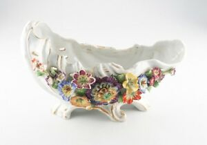 Vintage-German-Porcelain-Floral-Bowl-Marked-034-Germany-034-with-Von-Schierholz-Stamp