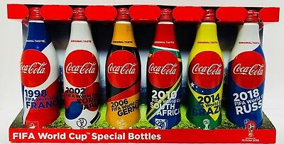 NEW FIFA World Cup Design Limited box All 6 types Coca Cola 2018 Japan F/S  | eBay