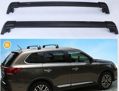 Roof Racks Rail Cross Bars Crossbars Fit For Mitsubishi Outlander PHEV 2013-2018
