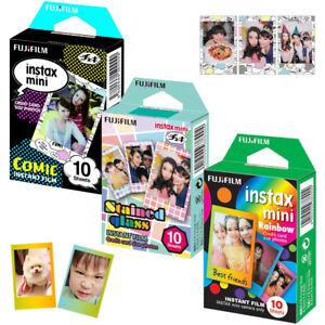 For-Fujifilm-Instax-Mini-7s-8-9-Instant-Camera-Film-30-Sheets-Color-Design-Photo