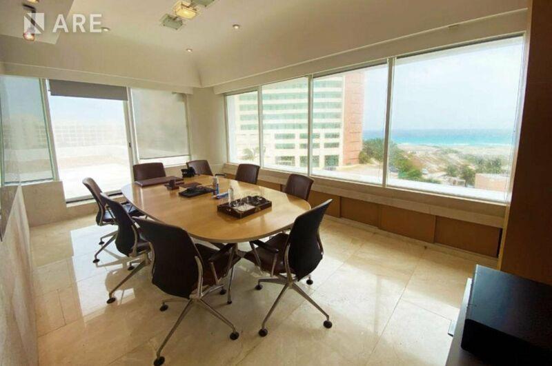 Oficina Amueblada en Renta Centro Empresarial Cancun