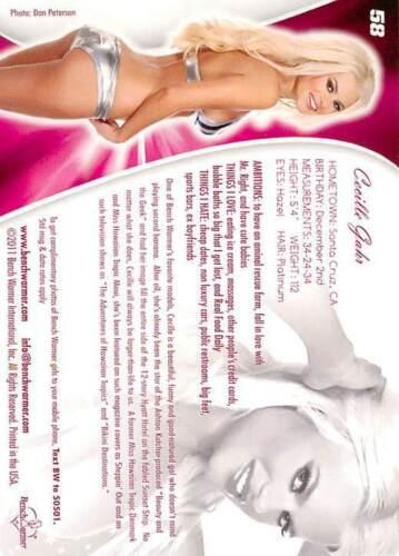 Cecille Gahr 58 2011 Bench Warmer Bubblegum