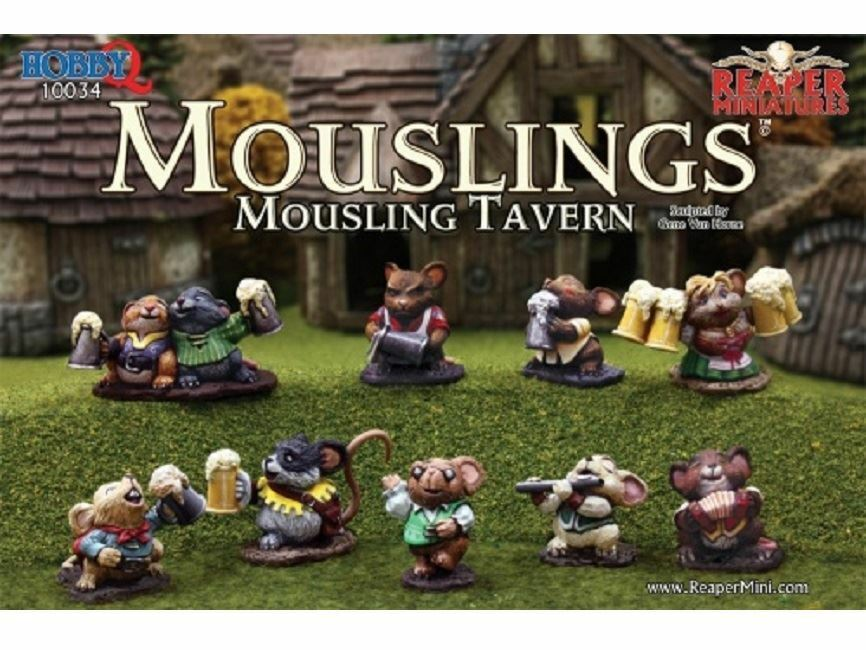 Reaper Miniatures Boxed Set - Mousling Tavern (10)