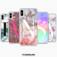 PERSONALISED-BIG-INITIALS-PHONE-CASE-MARBLE-HARD-COVER-APPLE-IPHONE-7-8-PLUS-XS thumbnail 1