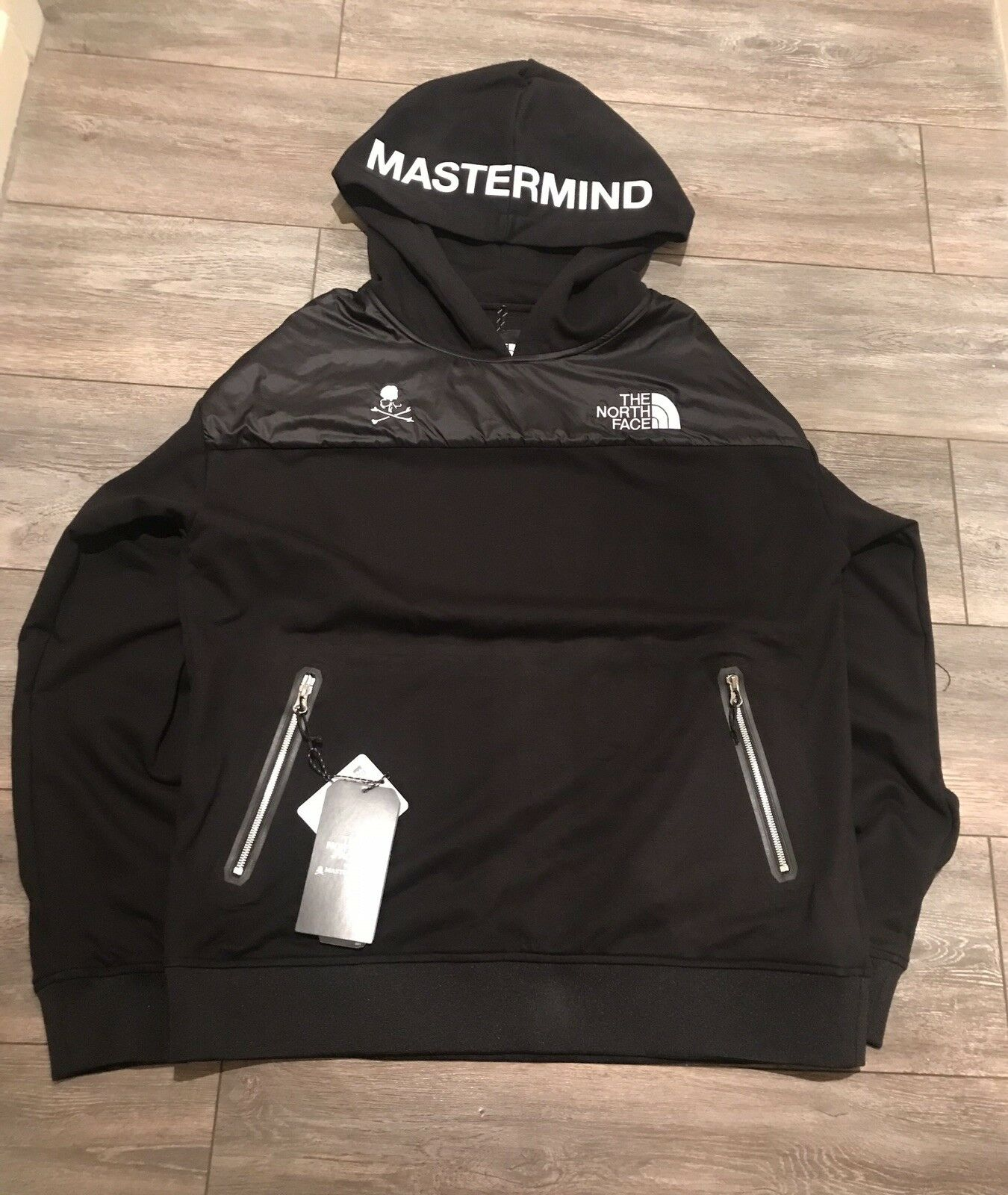 Brand New Mastermind x The North Face Pullover Hoodie Größe S UK US  / Asia M