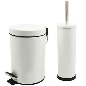 Bathroom Pedal Rubbish Waste Bin 3l