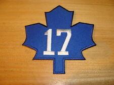 NHL Hockey Toronto Maple Leafs Wendel Clark Retirement Night Jersey Patch TML