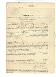 CIVIL-WAR-DISCHARGE-CERTIFICATE-SIMON-WAGNER-41st-NY-CO-B-8-MARCH-1862