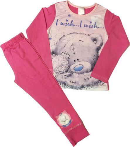 Tatty Bear Filles Pyjamas Pjs Âge 5 To 12 ans peut être Personnalisé