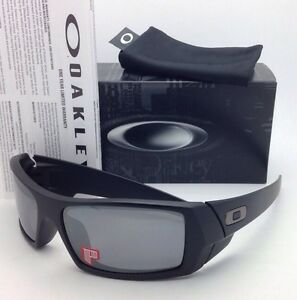 b624db0e159 OAKLEY POLARIZED Sunglasses GASCAN OO 12-856 Matte Black Frame w ...
