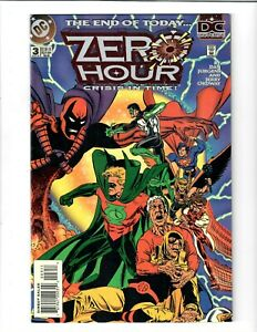 Zero Hour Crisis In Time! #3 Sep 1994 DC Comic.#137511D*3