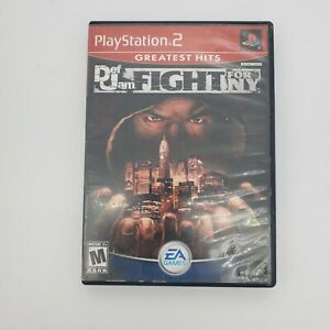 Def Jam: Fight for NY (Sony PlayStation 2, PS2) -- No Manual-- In Game Photos