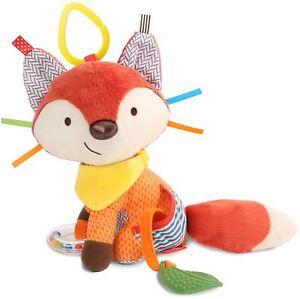 Skip-Hop-BANDANA-BUDDIES-ACTIVITY-TOY-FOX-Baby-Toys-Activities-BN