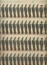 Esercito Italiano - Carabinieri Reali  N°4 Abbiati 1910  c.a Soldatini di Carta