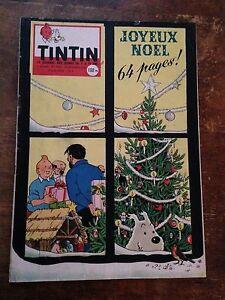 journal-de-tintin-530-France-1958-couv-Herge-avec-cheque-Tintin-Tbe