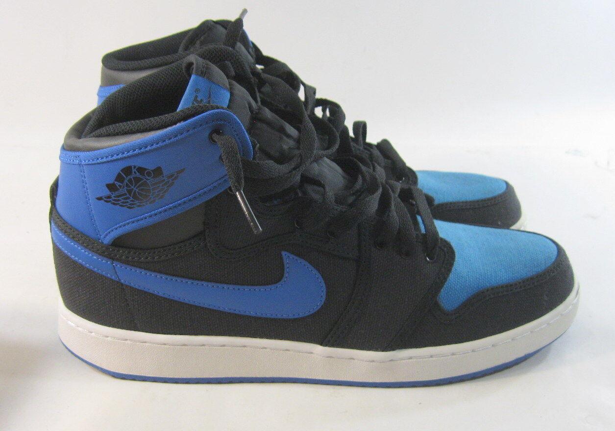 nike air jordanie rétro 1 rétro jordanie - 638471-007 bleu / noir taille 11,5 2f2944
