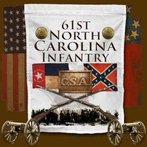 61st North Carolina Infantry American Civil War themed Yard Flag