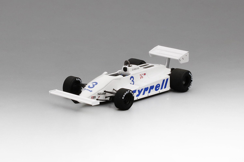 1 43 Tyrrell Ford 011 Cheever Hockenheim 1981 1 43 • TRUESCALE TSM154361