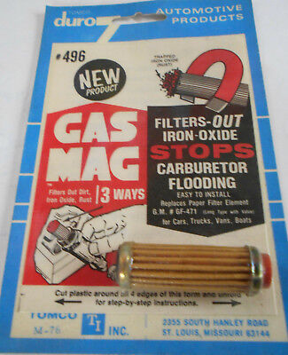 GAS FILTER GC3389 GF471 L@@K GM IN LINE CARBURETOR FUEL NEW FRAM AC