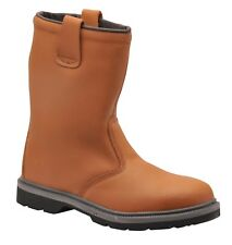 384bcaf7042 Arco 6394 Essentials S1p Safety Rigger Boot Tan UK Size 13 for sale ...