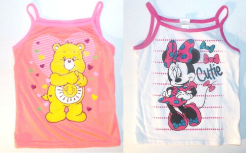 Disney Minnie Mouse  Toddler Girls Sleeveless Shirts Tops Sizes 4T and 5T NWT