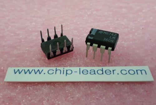 8 PDIP Bipolaire 14 ns temps de réponse Comparateur IC 2X NSC LM360N 1 Func