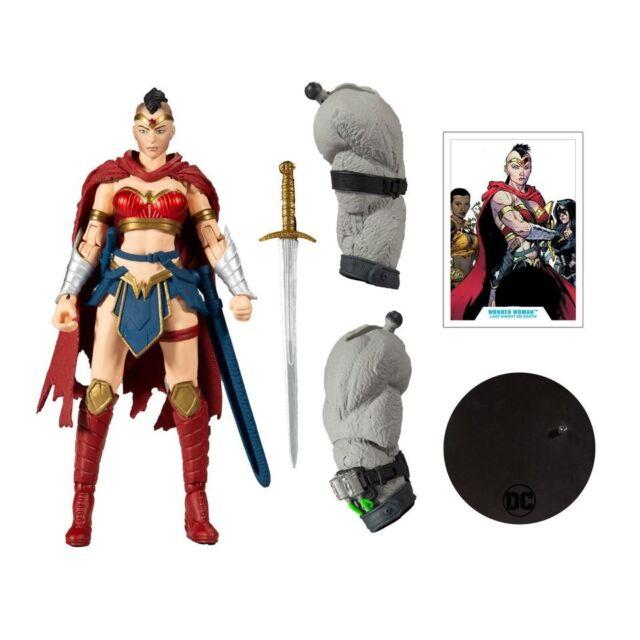 "McFarlane DC Multiverse Last Knight On Earth Wonder Woman 7"" Action Figure - BAF"