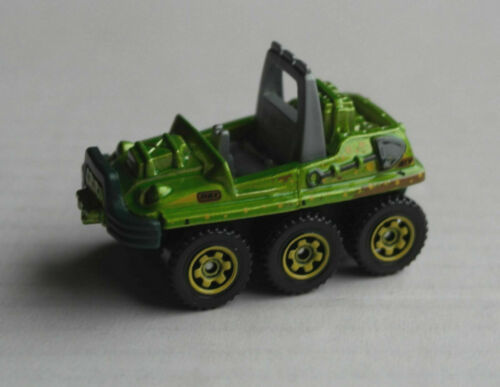 Autos Matchbox ATV 6x6 grünmetallic Allrad All-Terrain Vehicle MBX Mattel