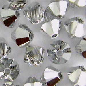 e33e22613 6mm Crystal CAL 5328 Swarovski Bicone Xilion Crystal Beads, 72 half ...